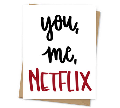 You, Me, Netflix Love Card