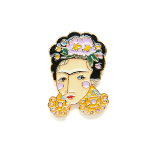 FRIDA KAHLO ENAMEL PIN -