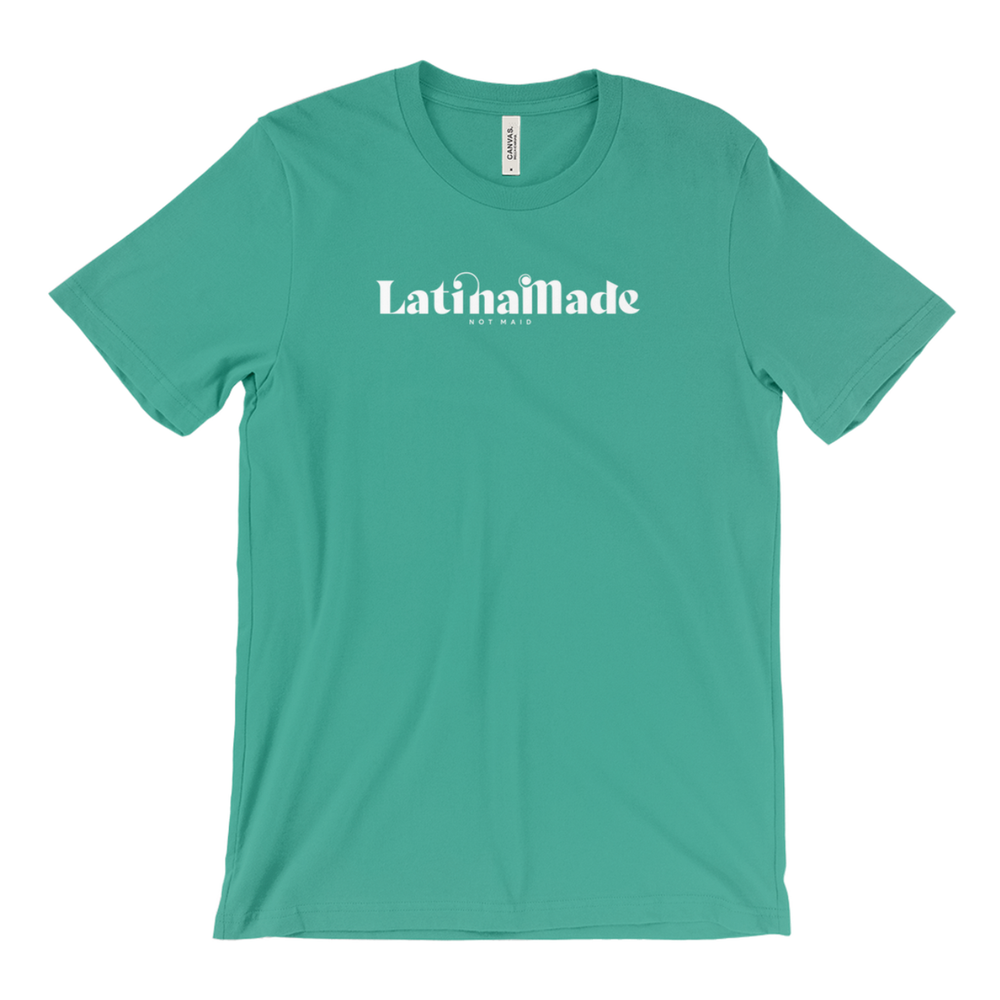 LATINA MADE WHITE HORIZONTAL T-SHIRT - 7 Colors Available