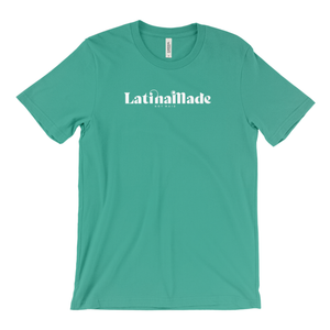 LATINA MADE WHITE HORIZONTAL T-SHIRT - 7 Colors Available - Latina Made Not Maid