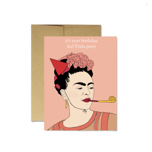 FRIDA BIRTHDAY CARD - Latina Made Not Maid