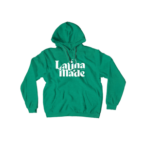 LATINA MADE PULLOVER HOODIE - 5 Colors Available - Latina Made Not Maid
