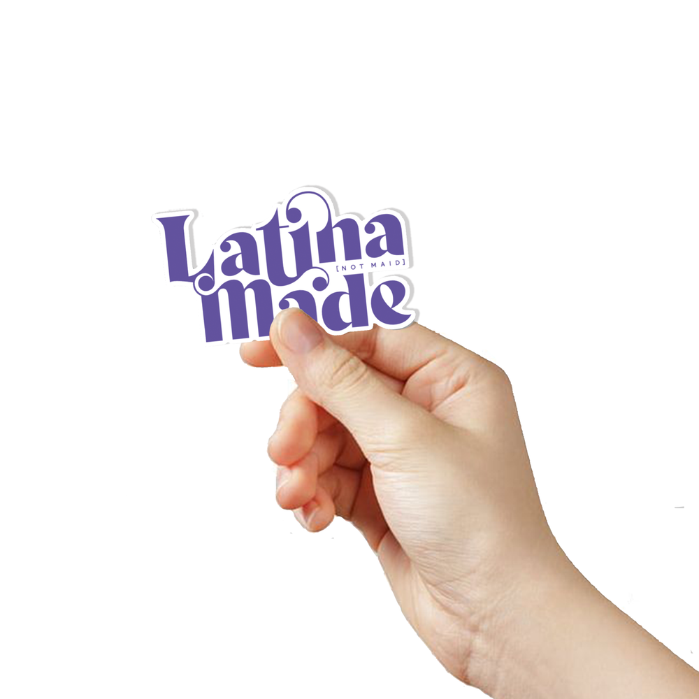 Load image into Gallery viewer, LATINA MADE STICKER -