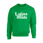 LATINA MADE WHITE SWEATSHIRT