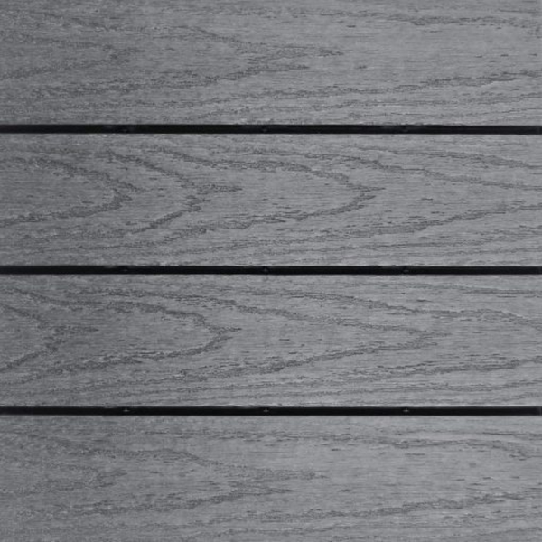 Deck Tile NewTechWood – Westminster Gray
