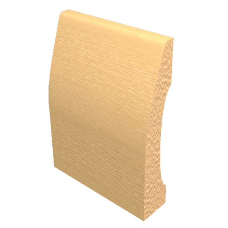 Laminated Baseboard Maple #3386
