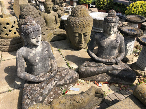 Sitting Buddha Garden Ornament