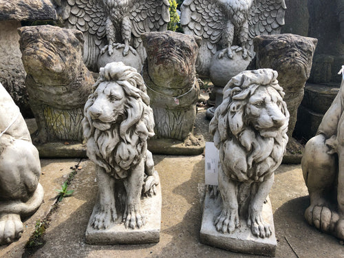 Small Lion Garden Ornament