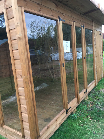 Combi-sunningdale includes 4ft Shed