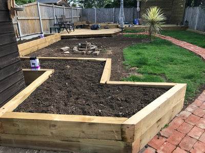 Raised Bed Mix Soil - DRY