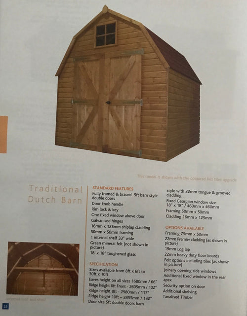 Traditional Dutch Barn
