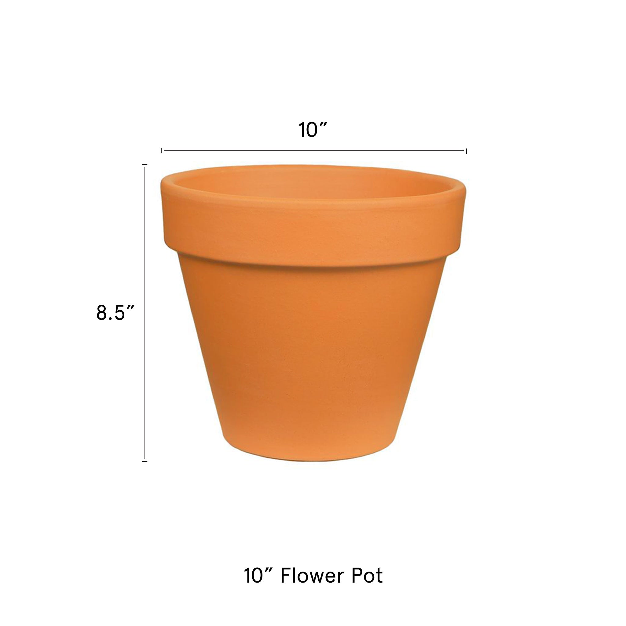 10-in-Flower-pot-Terra-Cotta