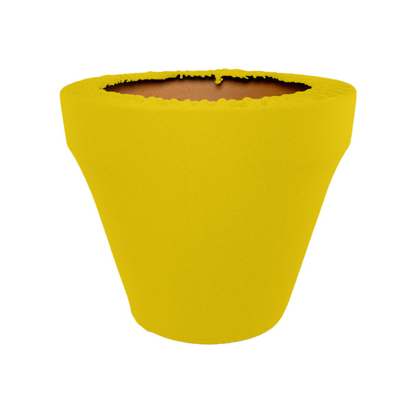 Mimosa Pot Sleeve 10 in, terra cotta, clay pot cover