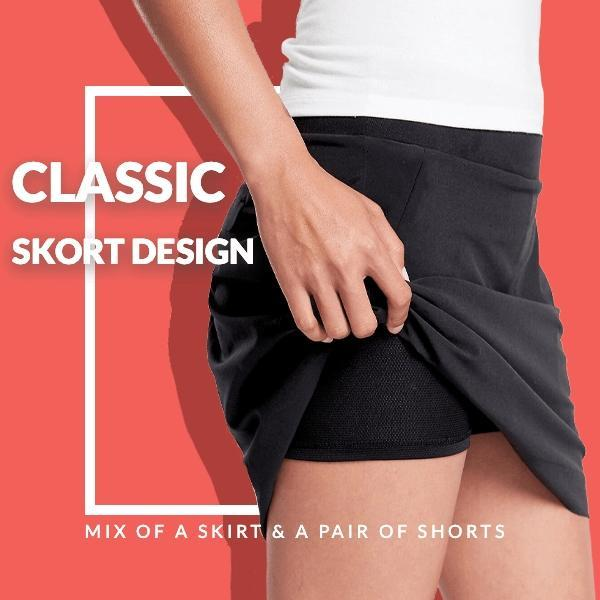 Workout Pleated Shorts