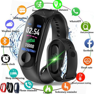 2 in 1 Waterproof Smart Watch with Bluetooth Earbuds - Multifunction