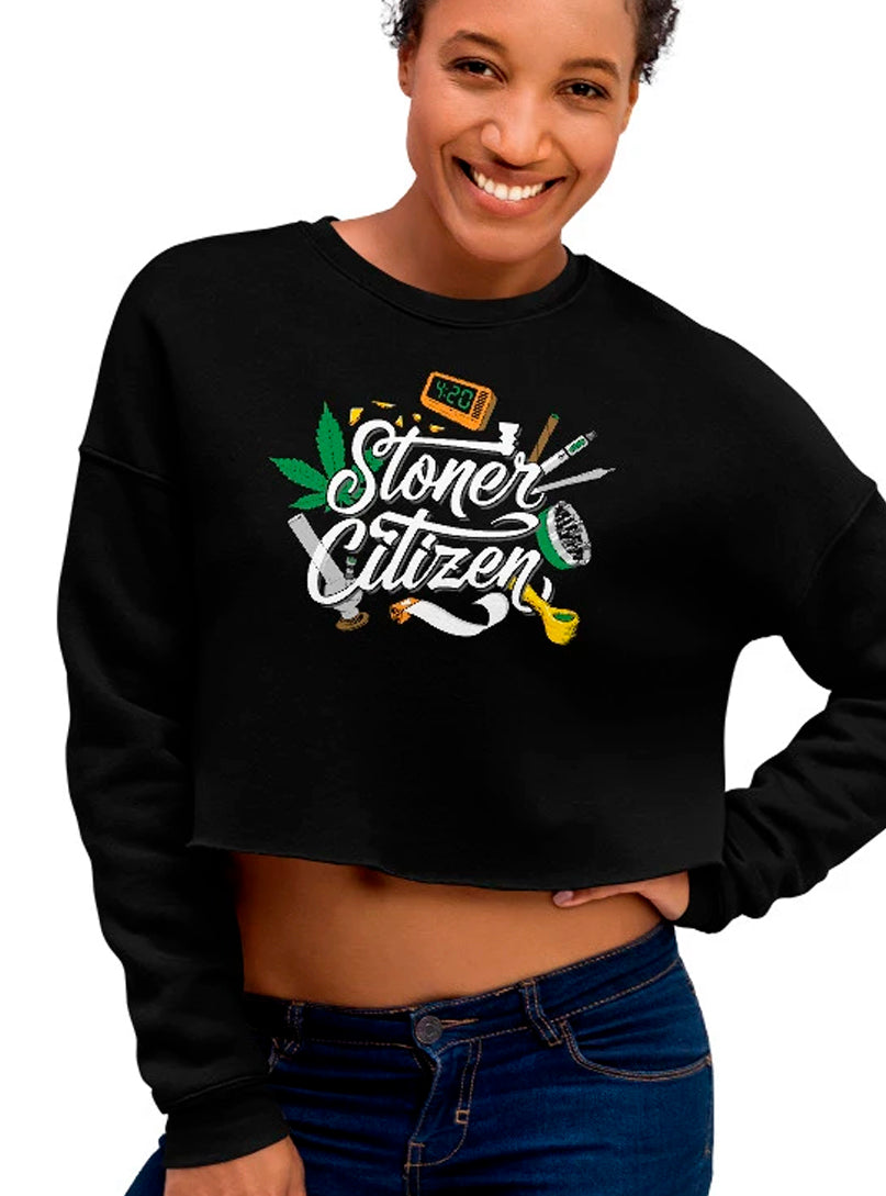 stoner women sweater 420 marijuana weed cannabis bong joint blunt pipe grinder papers