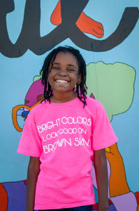 *KIDS* BRIGHT COLORS tee