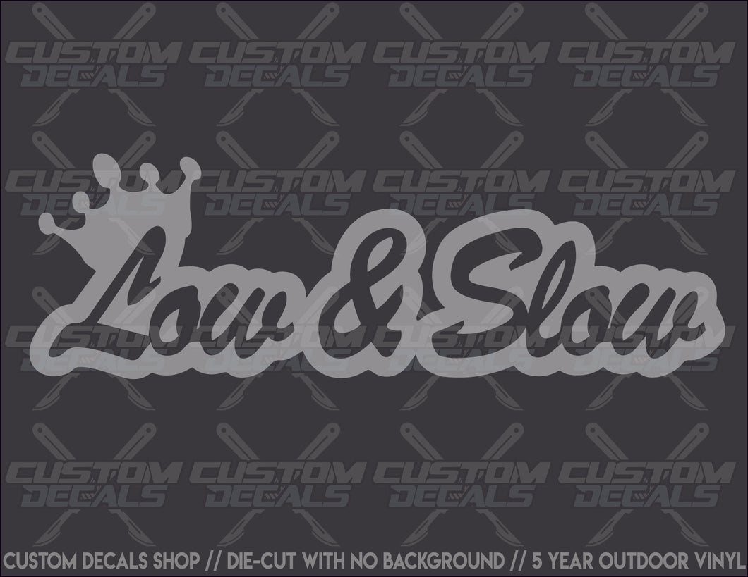 Low & Slow Decal