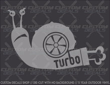 Load image into Gallery viewer, Snail 2 Turbo Decal