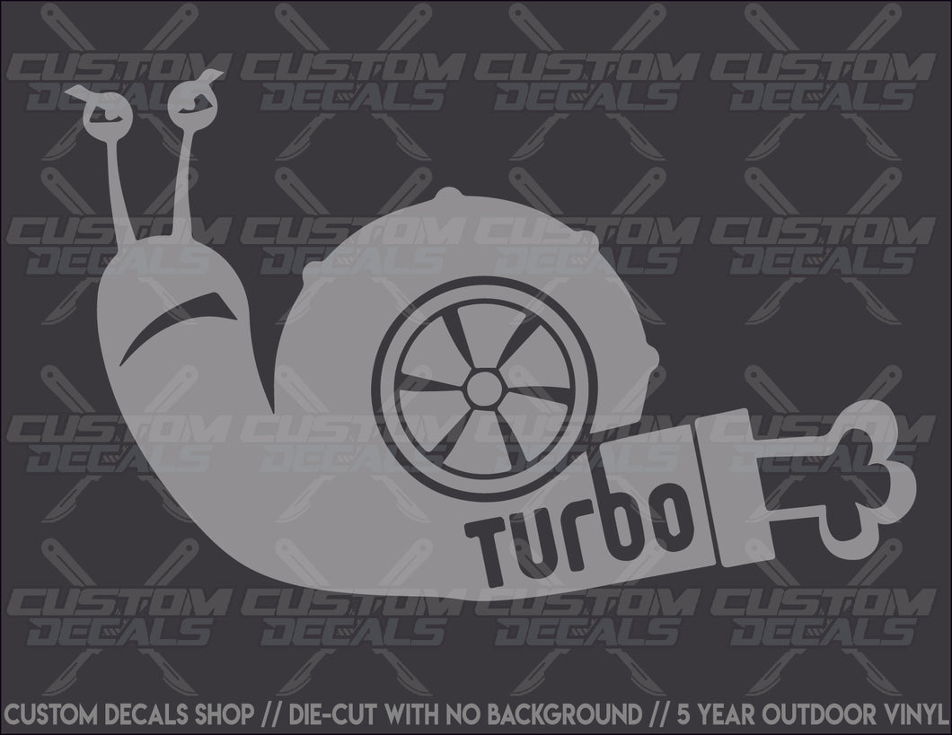 Snail 2 Turbo Decal
