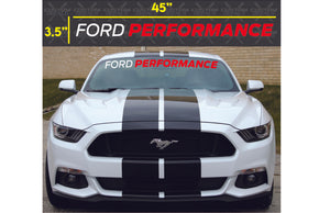 Ford Performance Banner (Single Layer)