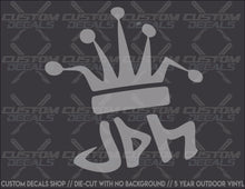"Load image into Gallery viewer, ""JDM"" Decal"