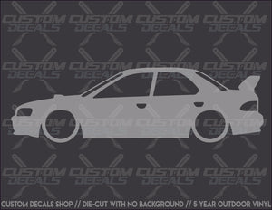GC8 Silhouette Decal