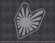 Load image into Gallery viewer, JDM Rising Sun Badge Decal
