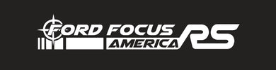 Crosshair Ford Focus America RS Banner (Single Layer)
