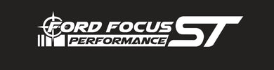 Crosshair Ford Focus Performance ST Banner (Single Layer)