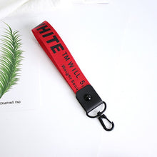 Load image into Gallery viewer, Off White Keychain
