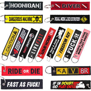 JDM/Motorcycle Jet Tags Set