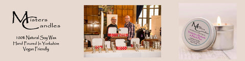 Misters Candles Soy Wax Candles Steven and Dean