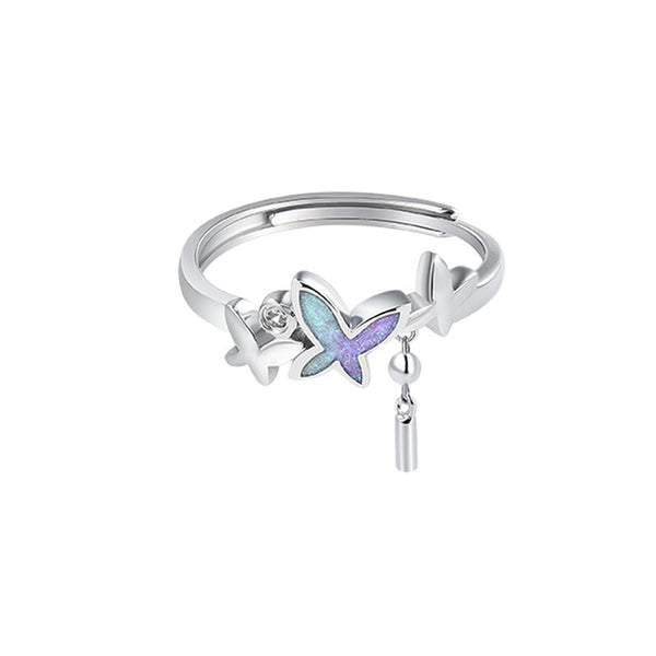 """Butterfly"" S925 Sterling Silver Ring"