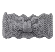 Load image into Gallery viewer, Chunky knitted headband (Grey)