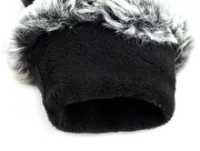 Load image into Gallery viewer, Gloves with faux fur trim