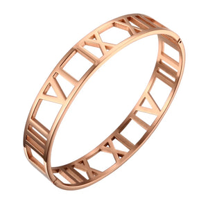 Atlas bangle (Rose gold)
