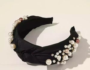 Royal hairband (blush)