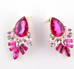 """Kyle"" earring (Pink)"