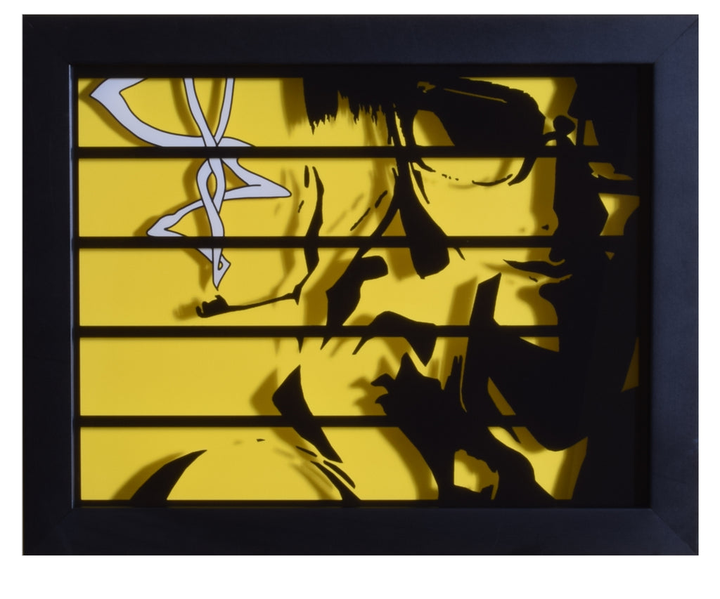 "Cowboy Bebop (TV) - ""Faye"" - 3D Shadow Box"