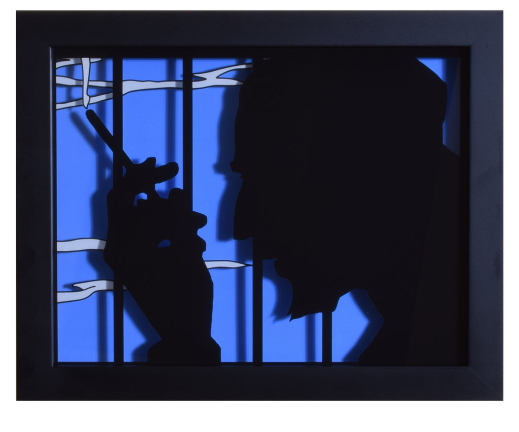 "Cowboy Bebop (TV) - ""Jet"" - 3D Shadow Box"