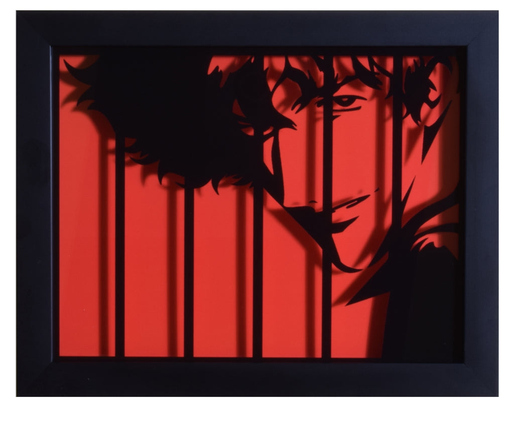 "Cowboy Bebop (TV) - ""Spike"" - 3D Shadow Box"