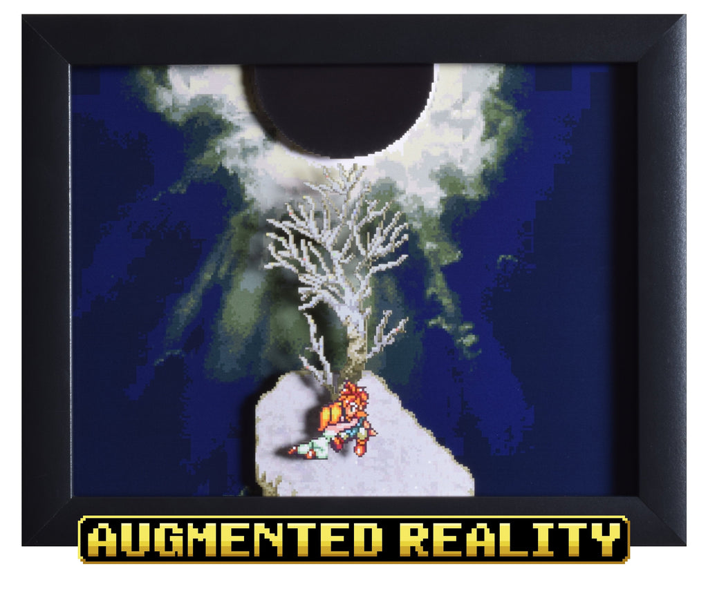 "Chrono Trigger (SNES) - ""Death Peak"" - 3D AR Shadow Box"