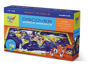 100-pc Discover Puzzle