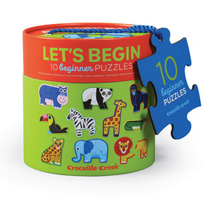 Let's Begin 2-pc Puzzles