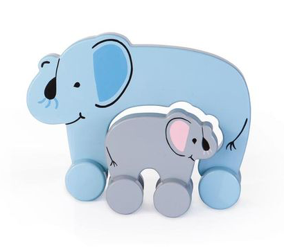 Mommy & Baby Push Toy