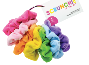 Day of the Week Scrunchie set