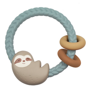 Circle Teething Rattle