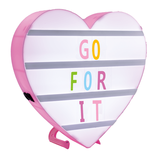 Heart Letter Board Light Box