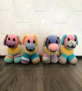 Knit puppies